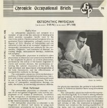 Image of Osteopathic Physician brief