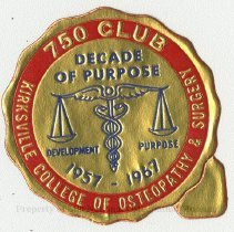 Image of 1981.666 - 750 Club sticker
