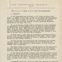 Image of 1984.977 - 75th Anniversary Bulletin No. 1