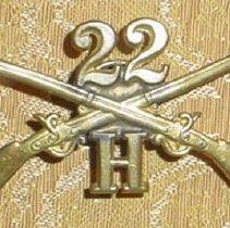 Image of Andrew Taylor Still Civil War Pin