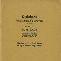 Image of 1986.1145 - Diphtheria