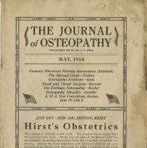 Image of 1987.1206 - The Journal of Osteopathy