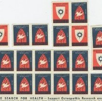 Image of National Osteopathic Foundation stamps