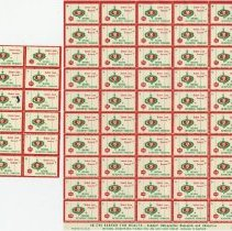 Image of 1989.1252 - Osteopathic Foundation Stamps 1960