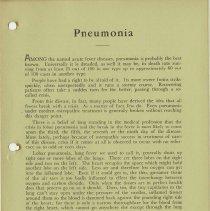 Image of 1989.1258 - Pneumonia