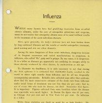 Image of 1989.1258 - Influenza