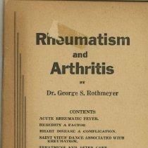 Image of 1991.1318 - Rheumatism and Arthritis