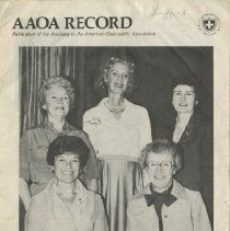 Image of 1991.1320 - Auxiliary to the American Osteopathic Association Record