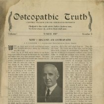 Image of 1991.1334 - Osteopathic Truth