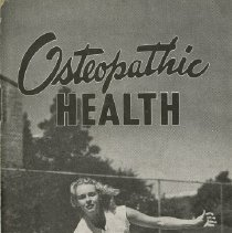 Image of 1992.1468 - Osteopathic Health New Series 28