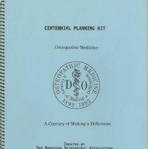 Image of 1992.1475 - Centennial Planning Kit