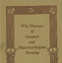 Image of 1992.1569 - Diseases of Stomach and Digestive Organs