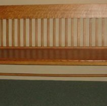 Image of 2000.28 - Laughlin Osteopathic Hospital Bench