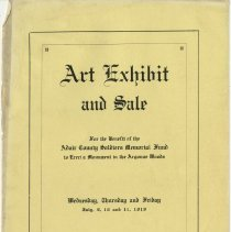 Image of Art Exhibit and Sale