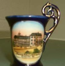 Image of 2003.39 - American School of Osteopathy Porcelain Cup