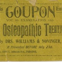 Image of Osteopathic Treatment coupon