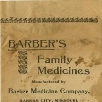 Image of 2004.19 - Barber's Family Medicines