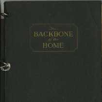 Image of 2004.280 - The Backbone of the Home cookbook