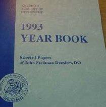 Image of AAO 1993 Yearbook