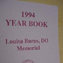 Image of 1994 AAO Yearbook