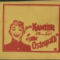 "Image of Eddie Kanter in ""The Osteopath"""