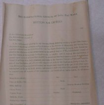 Image of Petition