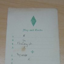 Image of Dance Card