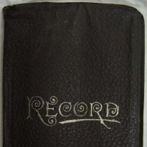 Image of 2007.03 - Record Book