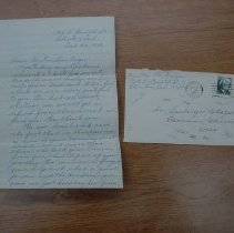 Image of Letter and Envelope