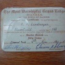 Image of Mason Membership Card