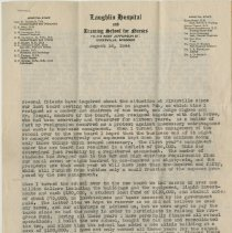 Image of Letter from George Laughlin