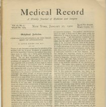 Image of Medical Record Journal