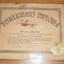 Image of Fisherman's Diploma