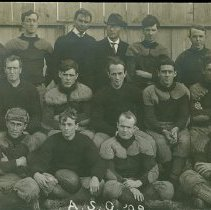 Image of 2008.01 - American School of Osteopathy Football Team