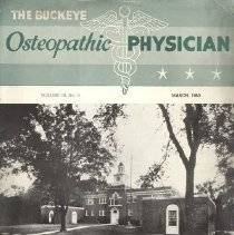 Image of 2008.79 - The Buckeye Osteopathic Physician, Vol. 18, No. 11