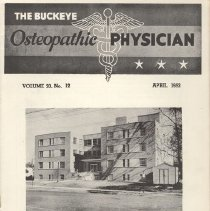 Image of 2008.79 - The Buckeye Osteopathic Physician, Vol. 20, No. 12