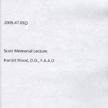 Image of 2009.47 - Scott Memorial Lecture