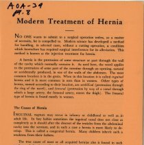 Image of 2009.49 - Modern Treatment of Hernia