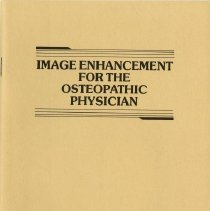Image of 2009.49 - Image Enhancement for the Osteopathic Physician
