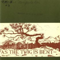 Image of 2009.49 - As the Twig is Bent