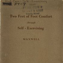 Image of 2009.49 - Two Feet of Foot Comfort Through Self-Exercising