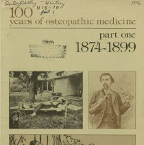 Image of 2009.49 - 100 Years of Osteopathic Medicine, Part One