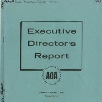 Image of 2009.49 - Executive Director's Report