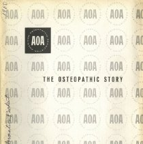 Image of 2009.49 - The Osteopathic Story