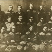Image of 2010.02 - American School of Osteopathy football team group photo