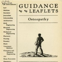 Image of 2010.02 - Guidance Leaflets: Osteopathy