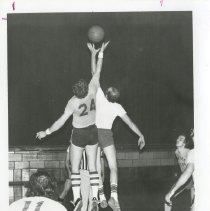 Image of 2010.02 - Male students playing basketball