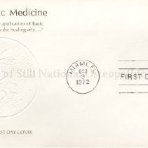 Image of 2010.04 - Osteopathic Medicine Official First day Cover and 8c Osteopathic Medicine Stamp