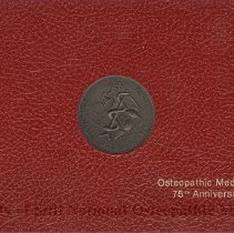 Image of 2010.04 - Osteopathic Medicine's 75th Anniversary Stamp Book
