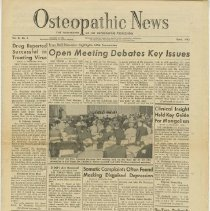 Image of 1994.99 - Osteopathic News, Vol. 3, No. 2